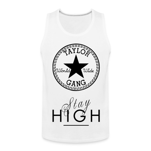 Taylor Gang Stay High Beater - Men's Premium Tank