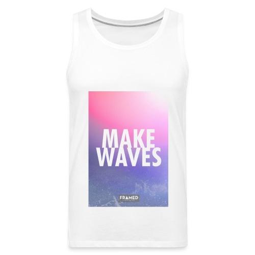 Make Waves Tank - Men's Premium Tank