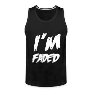 Im Faded Tank Top Sleeveless Shirt - Men's Premium Tank