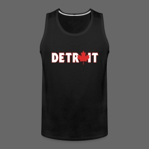 Detroit Canadian Flag - Men's Premium Tank