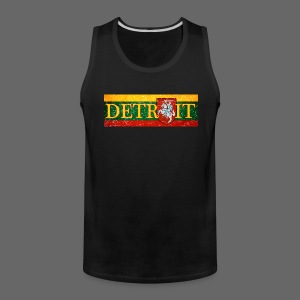 Detroit Lithuanian Flag - Men's Premium Tank