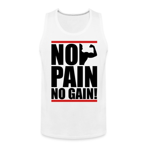 No Pain - Men's Premium Tank