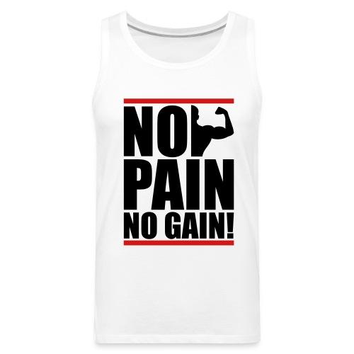 No Pain - Men's Premium Tank