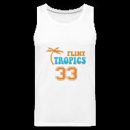 Tank Tops ~ Men's Premium Tank Top ~ FLINT TROPICS Jersey Tan Top