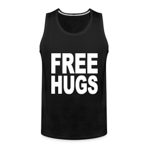 Free Hugs Tank Top Sleeveless Shirt - Men's Premium Tank