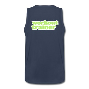 Skimble Workout Trainer tank top - Men's Premium Tank