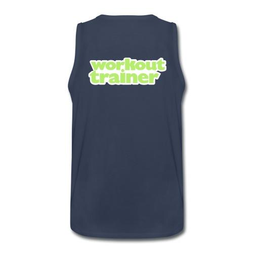 Skimble Workout Trainer tank top - Men's Premium Tank