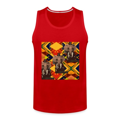 Tribal Elephant Tank - Men's Premium Tank