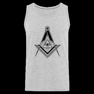 All Seeing Eye (Black) - T-Shirts