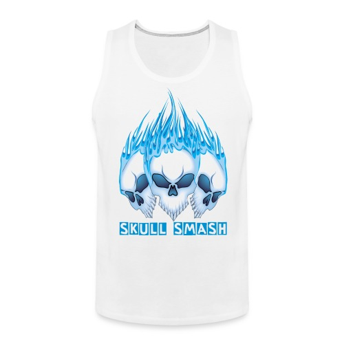 SKULL SMASH MEN'S TANKTOP - Men's Premium Tank