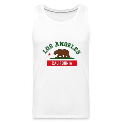 L.A Ballin' Sleeveless Tee - Men's Premium Tank