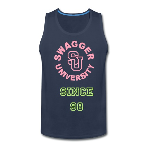 swagger University muscle tee - Men's Premium Tank
