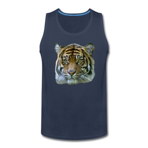 Tiger Head - Men's Premium Tank