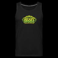 Tank Tops ~ Men's Premium Tank Top ~ Beastmode Beast Green TANK