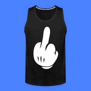 Middle Finger T-Shirts - stayflyclothing.com - Men's Premium Tank