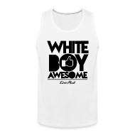Sportswear ~ Men's Premium Tank ~ White Boy Awesome Tank