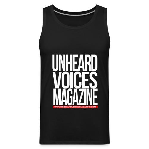 Unheard Voices Magazine Men's T-Shirt - Men's Premium Tank