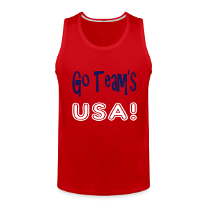 GO TEAMS USA - Men's Premium Tank