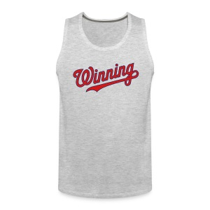 Nats Winning Tank - Grey - Men's Premium Tank