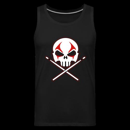 Rock and Roll Drummer Shirt Death Metal Drummer - Men's Premium Tank