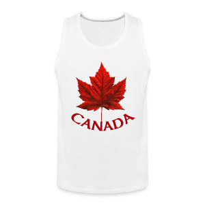Canada Souvenir Men's Sleeveless Tee Shirt Tank Top - Men's Premium Tank