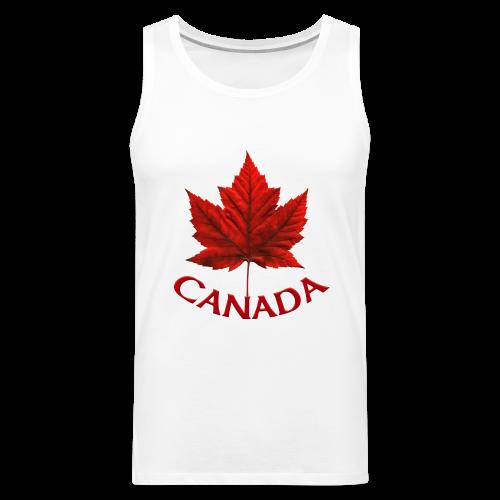 Canada Souvenir Men's Sleeveless Tee Shirt Tank Top - Men's Premium Tank