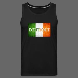 Detroit Irish Flag - Men's Premium Tank