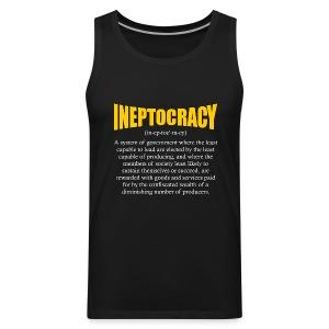 Ineptocracy Definition - Men's Premium Tank