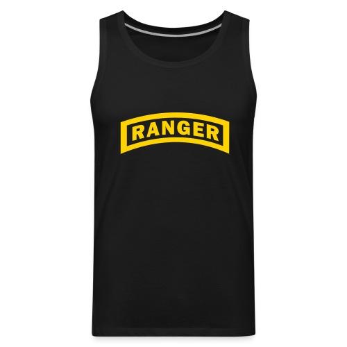 U.S. Army Ranger Logo - Men's Premium Tank
