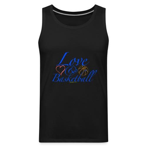 Love & Basketball - Men's Premium Tank