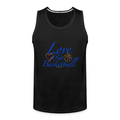 Love & Basketball - Men's Premium Tank
