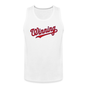 Nats Winning Tank - White - Men's Premium Tank