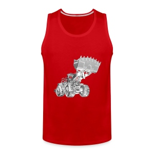 Old Mining Wheel Loader - Men's Premium Tank