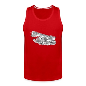 Mobile Crane 4-axle - Men's Premium Tank