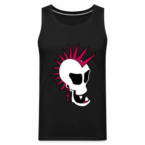 Punk Skull Tank Top - Men's Premium Tank