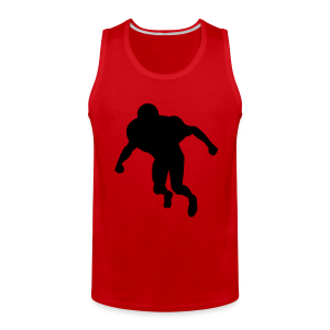 Football Linebacker - Men's Premium Tank
