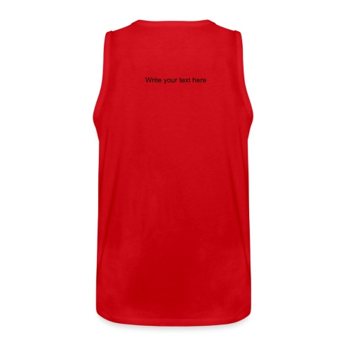 RED CARD - Men's Premium Tank