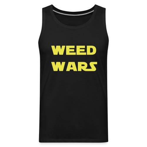 Weed Wars T-Shirt TankTop - Men's Premium Tank