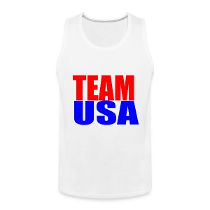 Team USA Sleeveless Tanktop - Men's Premium Tank