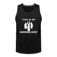 Sportswear ~ Men's Premium Tank ~ This is my Drinking Shirt Tank Top Sleeveless Shirt