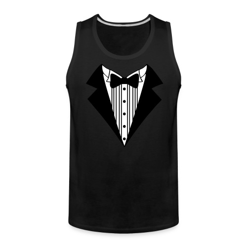 Great Tuxedo - Men's Premium Tank