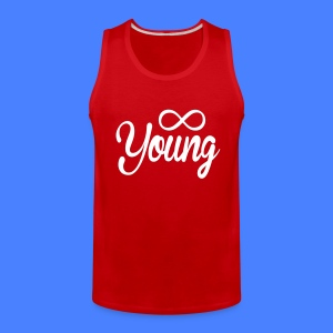 Forever Young T-Shirts - stayflyclothing.com - Men's Premium Tank