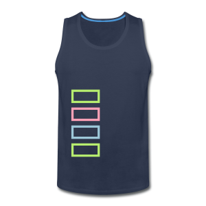 Bar Trim - Men's Premium Tank