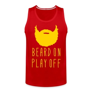 Playoff Beard 'Beard On Play Off Tank - Men's Premium Tank