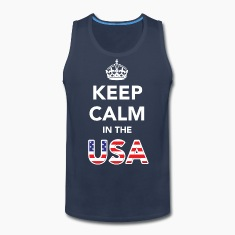 Keep Calm in the USA T-Shirts