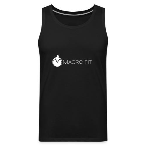 Men's Premium Tank - macros,macro fit,iifym,flexible dieting