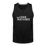 Sportswear ~ Men's Premium Tank ~ The Lean Machines Tank Top Mens - Black
