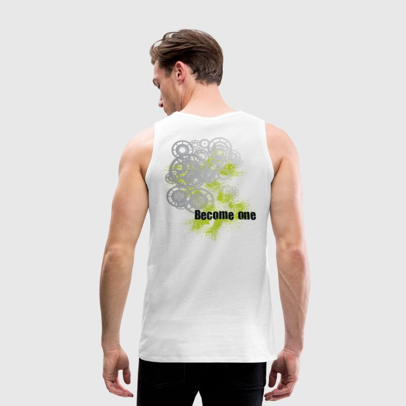 Don't Use Machines...Become One - Men's Premium Tank