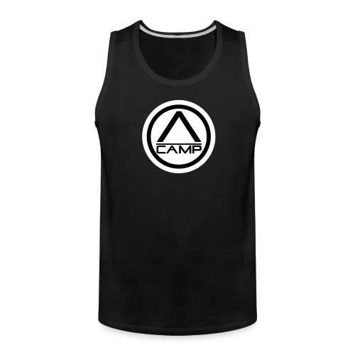 Black CAMP Tank - Men's Premium Tank