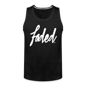 trademarked faded Tank - Men's Premium Tank